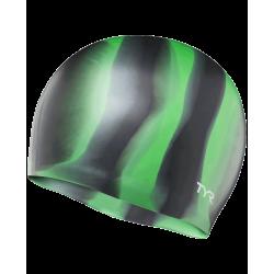 Multi-Color Silicone Swim Cap