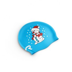 Christmas Swim Cap